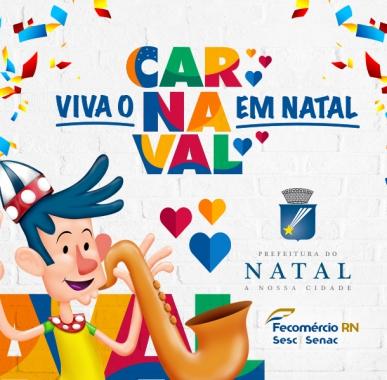 Carnaval Multicultural de Natal 2017 - cartaz