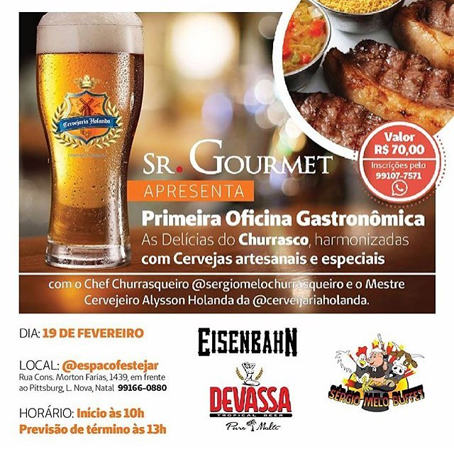 Oficina Gastronômica do Sr.Gourmet - cartaz