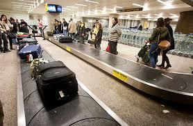 Malas em aeroporto - foto ilustrativa
