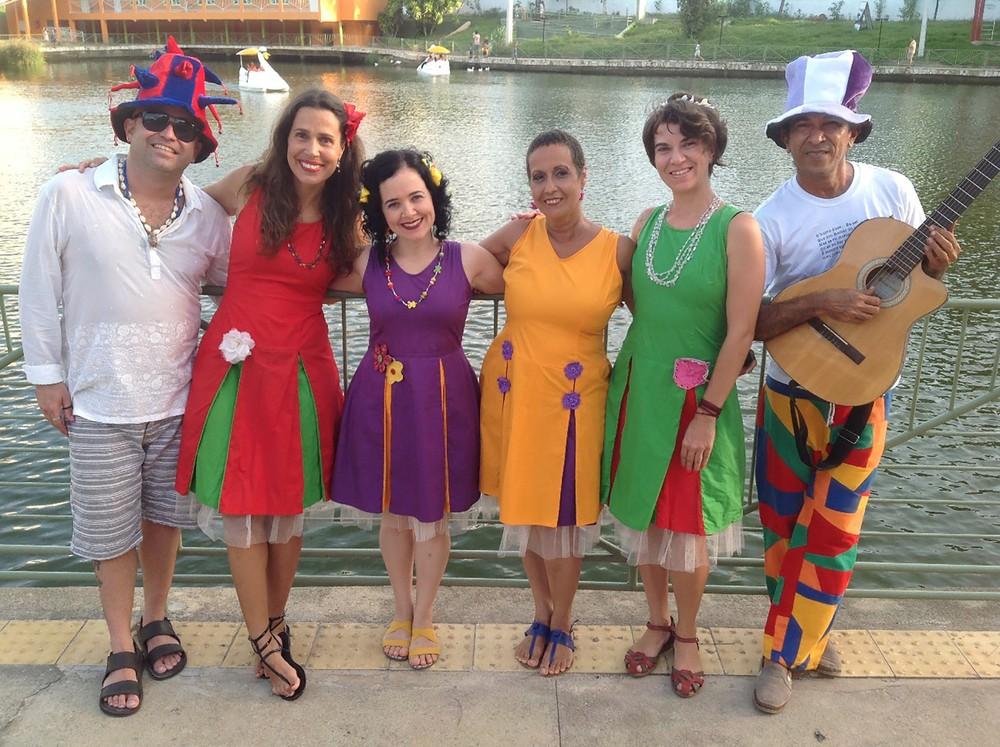 Grupo As Joanitas sobe ao anfiteatro para encerra a programação do final de semana Foto: Divulgação
